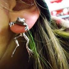 unique earrings frog earring turtle earrings gauges plugs unique earrings make