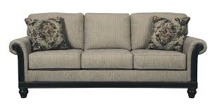 Ashley Sleeper Sofa by Blackwood Queen Sleeper Sofa In Taupe