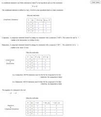 logic and truth tables worksheet 1 2 key brokeasshome com
