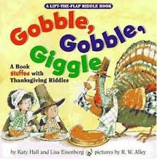 gobble gobble giggle a book stuffed with thanksgiving riddles