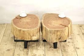 tree stump coffee table stump coffee table stump side table log side tables stump table like