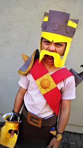 Barbarian Halloween Costume Clash Clans Barbarian King Costume Carnevale