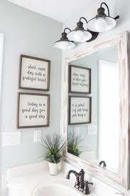 Wall Art Ideas For Bathroom Bathroom Wall Art Set Of 4 5x7 Wash Brush Floss Flush Buy