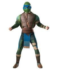 Tmnt Halloween Costumes Teenage Mutant Ninja Turtles 2 Leonardo Men Costume Superhero