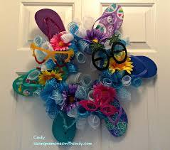 flip flop wreath saving memories with how to make that flip flop wreath