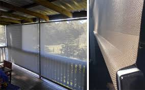 External Awnings Brisbane Budget Spring Loaded Outdoor Blinds Brisbane Rainbow Blinds