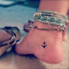 tattoos on foot 20 creative ideas and designs anchor tattoos