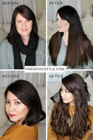clip in hair extensions before and after in hair extensions before and after
