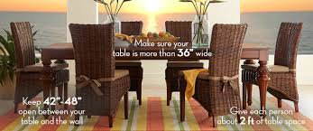2 Person Dining Table And Chairs Tips For How To Choose The Perfect Dining Rooms Table Size
