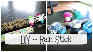 Trash To Treasure Diy Rain Stick Feat Dollar Tree Items Youtube