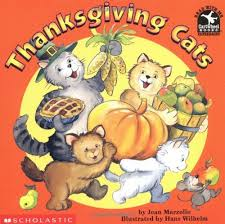 thanksgiving cats read with me cartwheel books scholastic