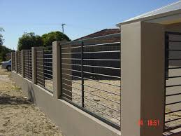 Metal Fence Designs Zampco - Home fences designs