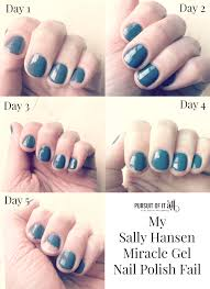 gel nail light sally s beauty my sally hansen miracle gel polish fail pursuit of it all