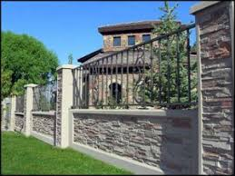 Decorative Concrete Pillars Decorative Concrete Fences U0026 Wall Forms Aftec Llc