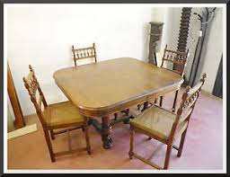 sedie rovere tavolo 800 rovere allungabile sedie originale enrico ii