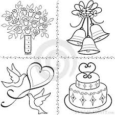 Wedding Flowers Drawing Wedding Drawings Clip Art U2013 101 Clip Art