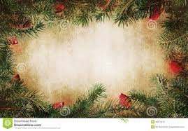 fashioned christmas tree pine tree branches with christmas lights royalty free stock photo