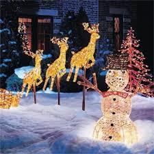 Outdoor Wooden Reindeer Christmas Decorations by Christmas Garden Decoration Ideas Outdoor Christmas Decorations