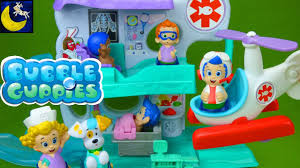 bubble guppies check up center hospital playset gil rescue
