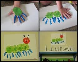 Hand Crafts For Kids To Make - the best footprint crafts for kids to make 10 funnycrafts