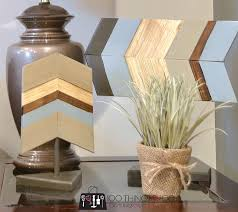 chevron home decor wood chevron decor 100 things 2 do