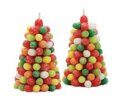 gumdrop tree candles the green
