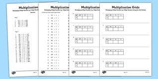 lattice method multiplication worksheets u0026 lattice multiplication