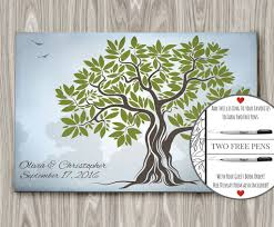 wedding guestbook wedding guest book tree alternative guest book idea