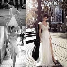 high wedding dresses 2011 discount gali karten 2018 high slits wedding dresses backless