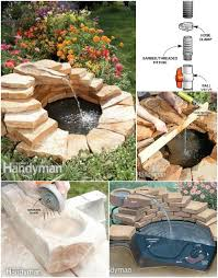 Rock Garden With Water Feature 30 Creative And Stunning Water Features To Adorn Your Garden Diy