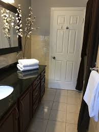 bathroom makeover for staging a house to sell home improvement