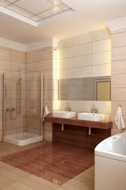 bathroom recessed lighting ideas white lacquer acrylic