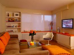 orange livingroom 15 luscious orange and white living rooms home design lover