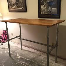 industrial standing desk arlene designs