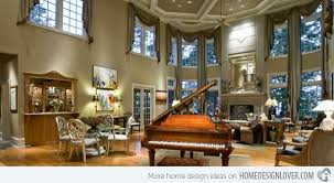 Curtains High Ceiling Decorating How To Decorate An Interior With High Ceilings Ceilings