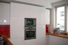meuble cuisine laqué blanc meuble bas cuisine blanc laqu excellent cuisine blanc laque pas