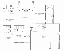 floor plans blueprints one open floor plans fresh baby nursery open floor plan