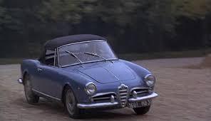 cinematic cars alfa romeo giulietta spider in