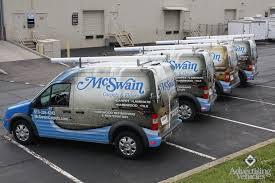 mcswain carpets flooring transit connect vehicle wraps fleet