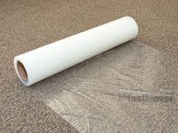Plastic Rug Runners Protection Film