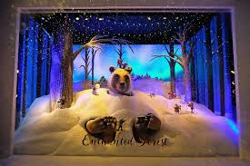 best christmas window displays from departments stores in nyc
