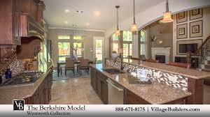 village builders floor plans the berkshire model tour village builders houston youtube