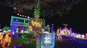 christmas lights ocala fl drelick family light show the great christmas light fight youtube