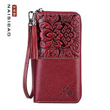 leather women s wallet pattern chinese style genuine leather female clutch wallet fashion pattern
