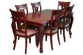 Wooden Dining Room Furniture Wooden Dining Set Dining Tables Appealing Brown Rectangle