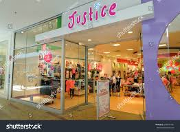 justice at the mall washington us july 19 2015 justice stock photo 298004786