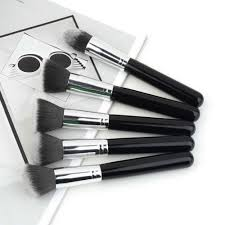 10pcs high quality professional synthetic kabuki makeup brushes