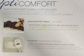 aerobed opti comfort queen air mattress with headboard u2013 costcochaser