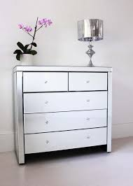 Bedroom Sideboard Furniture by Furniture 3 Drawers Mirrored Chest Of Drawers For Bedroom