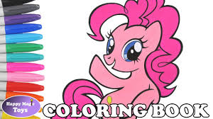 mlp pinkie pie coloring book pages my little pony pinkie pie